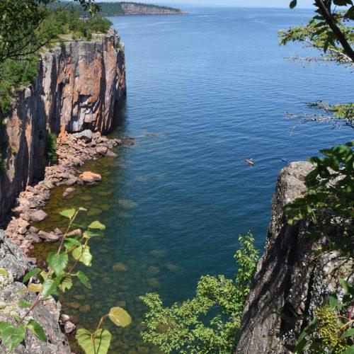 lake superior cliff