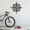 Compass Rose - Wall Doodle