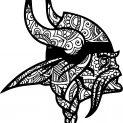 Doodle paper_viking